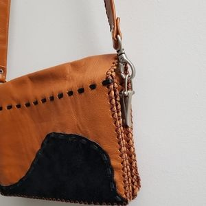 Genuine leather- Crossbody purse